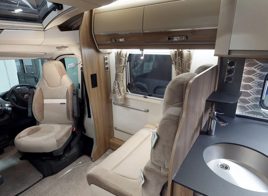 Bessacarr 597 Motorhome, 3D Virtual tour